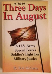 Michael Turpiano's copy of Three Days in August