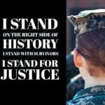 I stand for justice